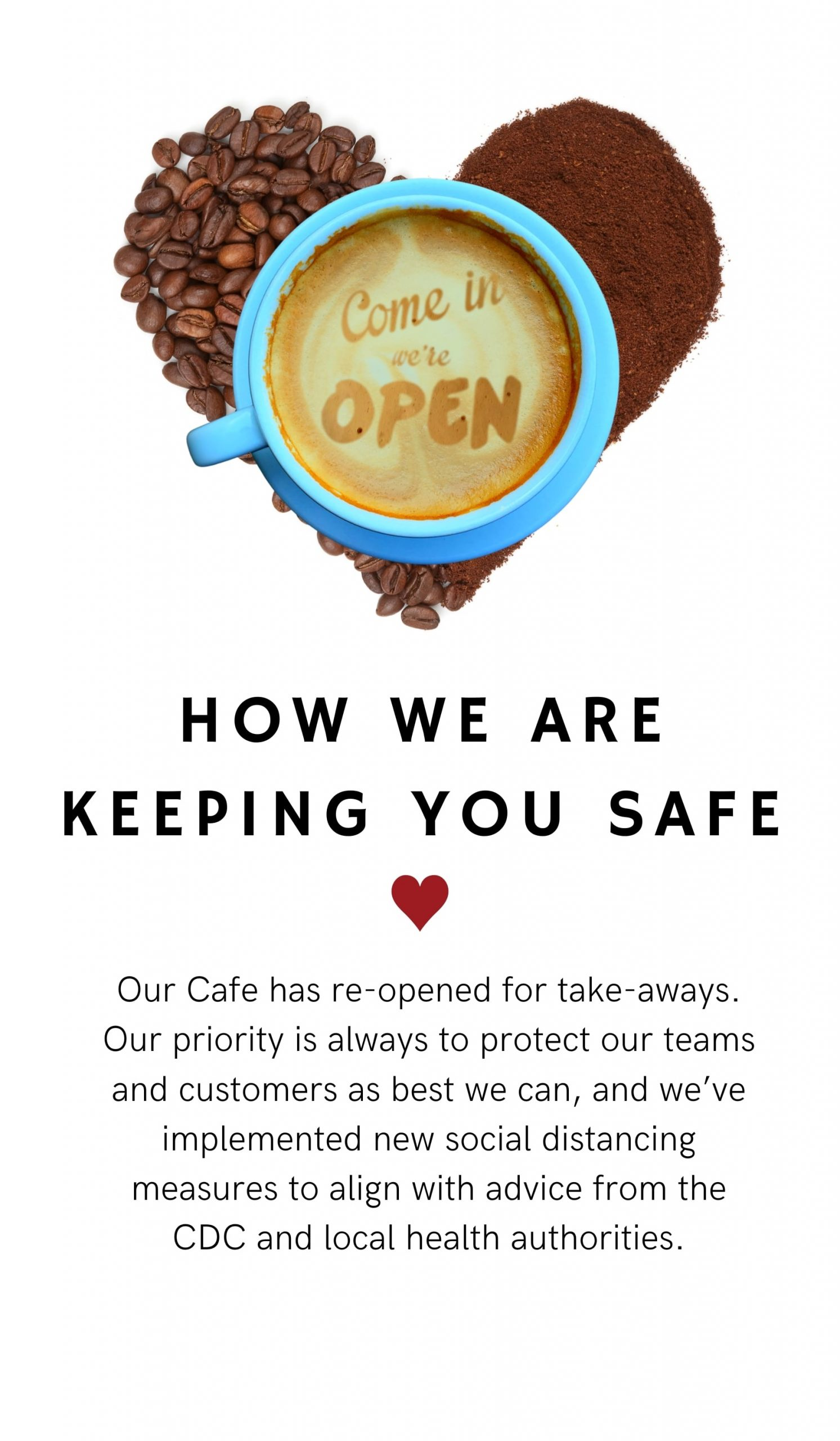 Come In We Are Open Vertical Banner